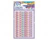 Tęczowe perełki - naklejki dekoracyjne kolorowe perełki (335118012)