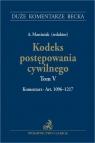 Kodeks postępowania cywilnego. Tom V. Komentarz do art. 1096-1217