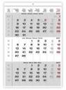 Kalendarz 2017 trzymiesięczny HELMA