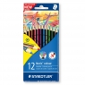 Kredki Noris Colour 12 kolorów Wopex STAEDTLER (S 185 C12)