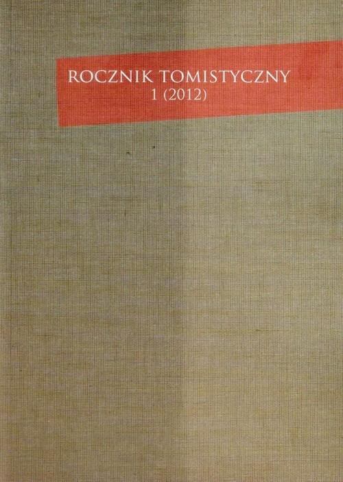 Rocznik Tomistyczny 1/2012