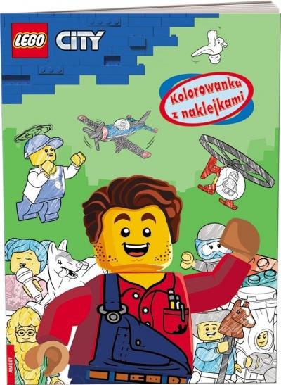 LEGO(R) City. Kolorowanka z naklejkami praca zbiorowa