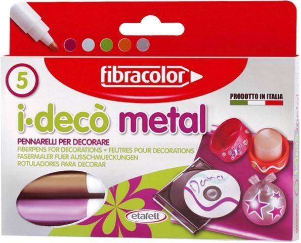 Mazaki I-deco Metal 5 kol. FIBRACOLOR