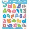 Notes samoprzylepny do nauki alfabetu