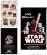 Naklejki w zesyzcie Star Wars - 200 sztuk