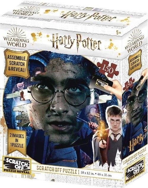 Harry Potter Magiczne puzzle-zdrapka Harry 150 elementów