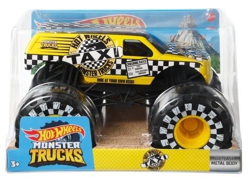 Pojazd Monster Trucks Taxi 1:24 (FYJ83/GWL06)