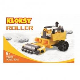 Klocki Kloksy - Maszyny budowlane ubijarka 40 el. (93302)