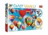 Puzzle Crazy shapes Kolorowe balony 600 (11112)