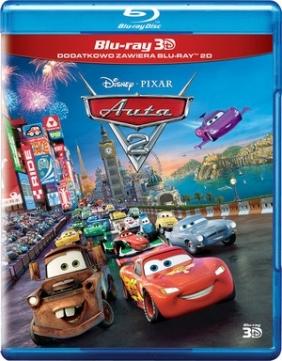 Auta 2 3D (Disney Pixar) (2Blu-ray)