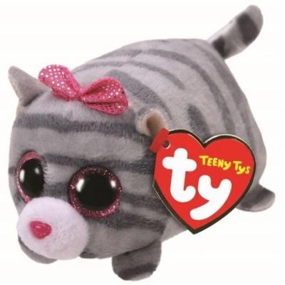 Maskotka Teeny Tys Casie - szary kotek 10 cm (TY 42312)