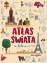 Atlas świata do kolorowania Giulia Lombardo (ilustr.)