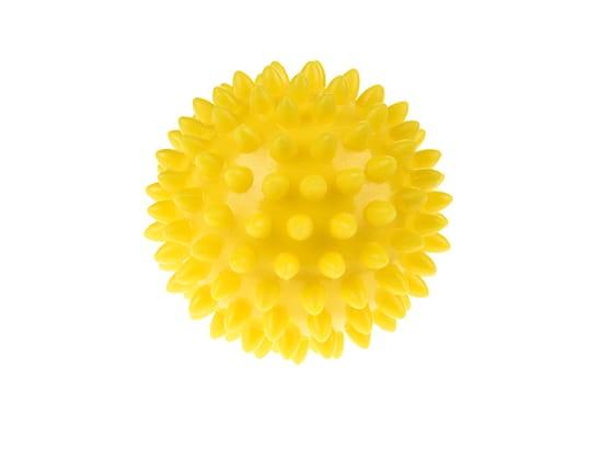 Tullo, Piłka rehabilitacyjna 6,6 cm, żółta (412)