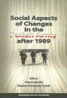 Social Aspects of Changes in the Polish Army after 1989 Jarecka Urszula, Piotrowska-Trybull Marzena