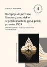 Recepcja najnowszej literatury ukraińskiej w przekładach na język polski po Skowron Jadwiga