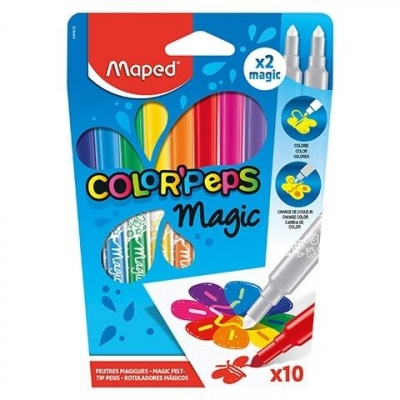Flamastry Colorpeps Magic 8+2 MAPED
