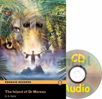 Pen. The Island of dr Moreau bk/CD (3) RL OOP H.G. Wells