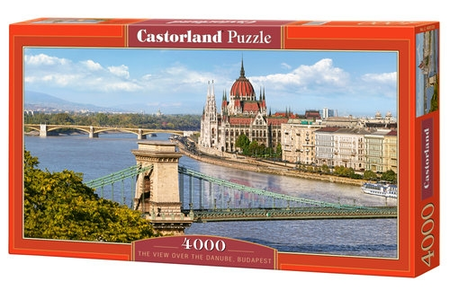 Puzzle The View over the Danube, Budapest 4000 (400126)