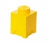 LEGO, Pojemnik klocek Brick 1 - Żółty (40011732)