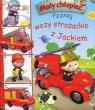 Mały chłopiec Poznaj wozy strażackie z Jackiem