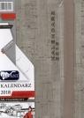 Kalendarz Flamenco popielaty  A6 tyg. 2018