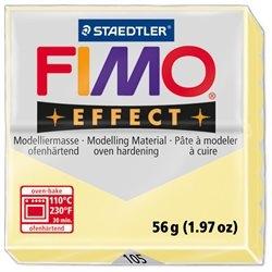 Masa termoutwardzalna FIMO effect. Waniliowy  pastelowy. (8020-105)
