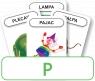 Karty: Logopedyczny Piotruś - Część XXII, głoska P