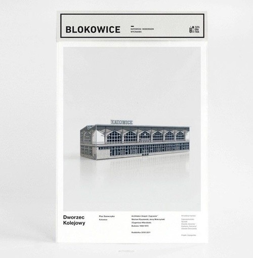 Blokowice Katowicki Modernizm Dworzec Kolejowy
