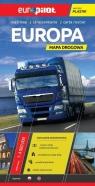 Europa mapa drogowa Europilot 1:4 000 000 laminowana