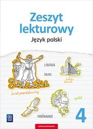 Zeszyt lekturowy. Język polski. Zeszyt ćwiczeń. Klasa 4 Surdej Beata, Surdej Andrzej