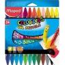 Kredki Colorpeps pastele olejne 24 kolory MAPED