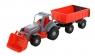 Siłacz Traktor z przyczepą i łyżką (45027)