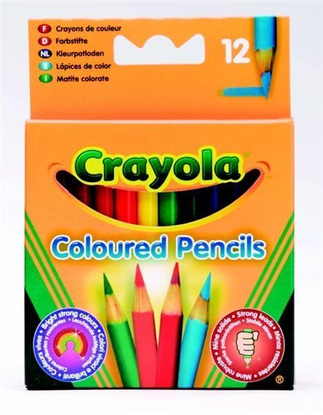 Kredki ołówkowe Crayola 12 sztuk (4112)