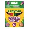 Kredki ołówkowe mini Crayola, 12 sztuk (4112)