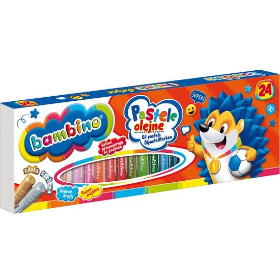 Pastele olejne Bambino, 24 kolorów