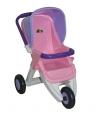 Wózek dla lalek spacerowy 3-kołowy