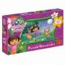 Puzzle 60 Dora poznaje świat Cukierek albo psikus (1112)