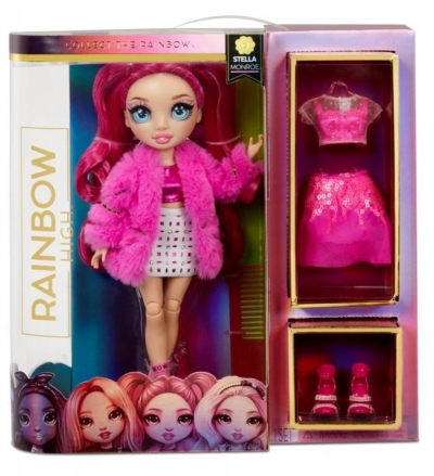 Rainbow High Fashion Stella Monroe (2szt)