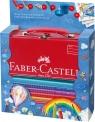 Zestaw Do Rysowania I Malowania Jumbo Grip W Walizce Metalowej Faber-Castell
