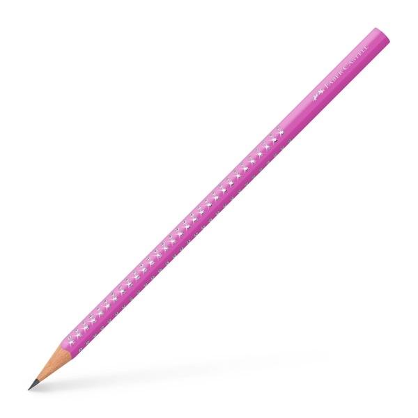 Ołówek Grip Sparkle fuksja (118302)