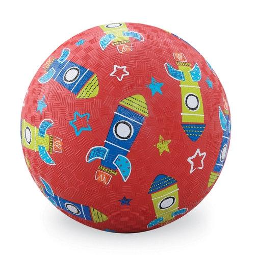 Piłka 7'', 18cm, wzór Rakiety