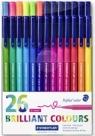 Flamastry Triplus 26 kolorów (TB26)