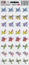 Naklejki Alfika i Zetki 12 Samoloty