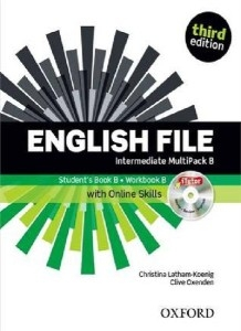 English File Third Edition Intermediate: Multipack B with iTutor and iChecker with Online Skills Christina Latham-Koenig and Clive Oxenden
