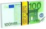 Notes 100 Euro 70 kartek