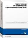 Postępowanie administracyjne i sądowoadministracyjne Adamiak Barbara, Borkowski Janusz