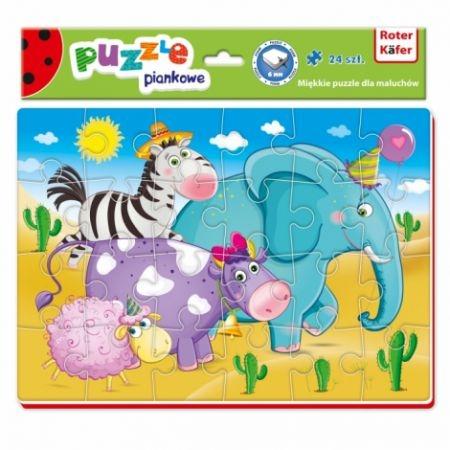 Miękkie puzzle 24: Zwierzątka (RK1201-02)