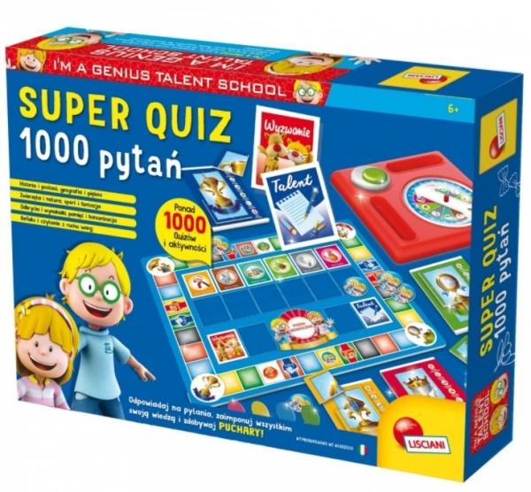 Gra I'M Genius Super quiz 1000 pytań (304-PL56477)