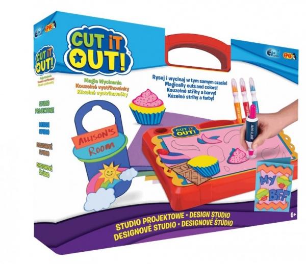 Cut it Out! Magia wycinania - studio projektowe (EP02612)