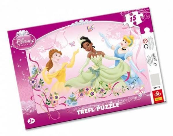 Wiosenny taniec - Puzzle Ramkowe - 15 elementów (31112)